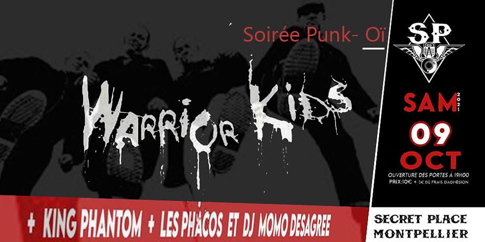 WARRIOR KIDS + KING PHANTOM + LES PHACOS + DJ MOMO DISAGREE
