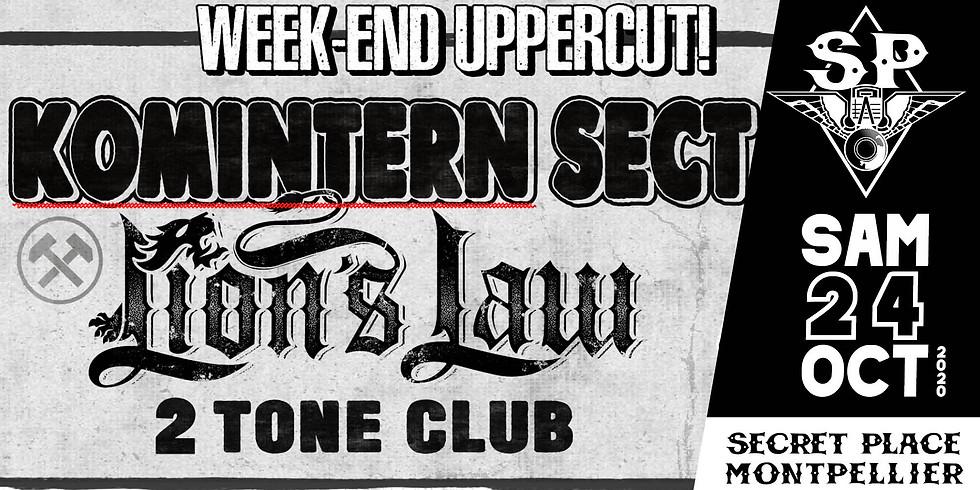 KOMINTERN SECT + LION'S LAW + TWO TONE CLUB + DJ MOMO DISAGREE