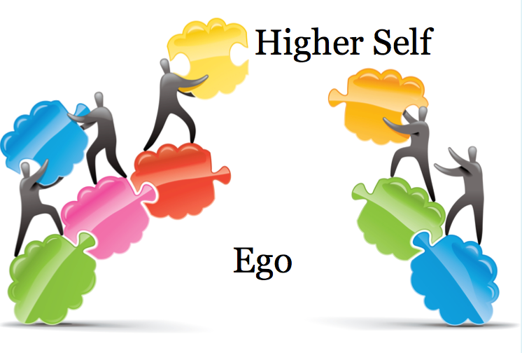 Higher Self Over Ego Graphic