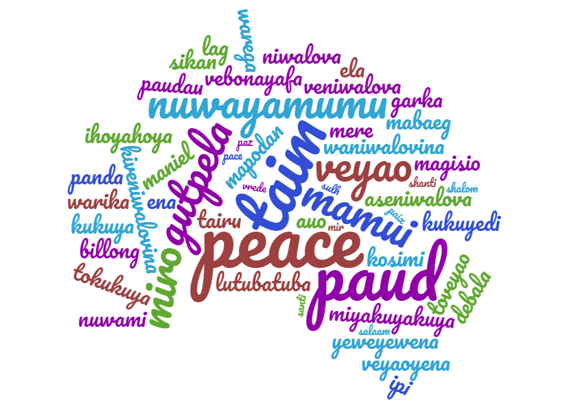 Words for Peace in Papua New Guinea