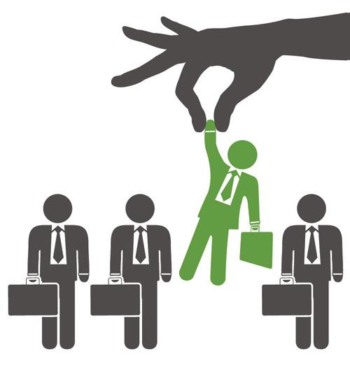Hand Picking Employee