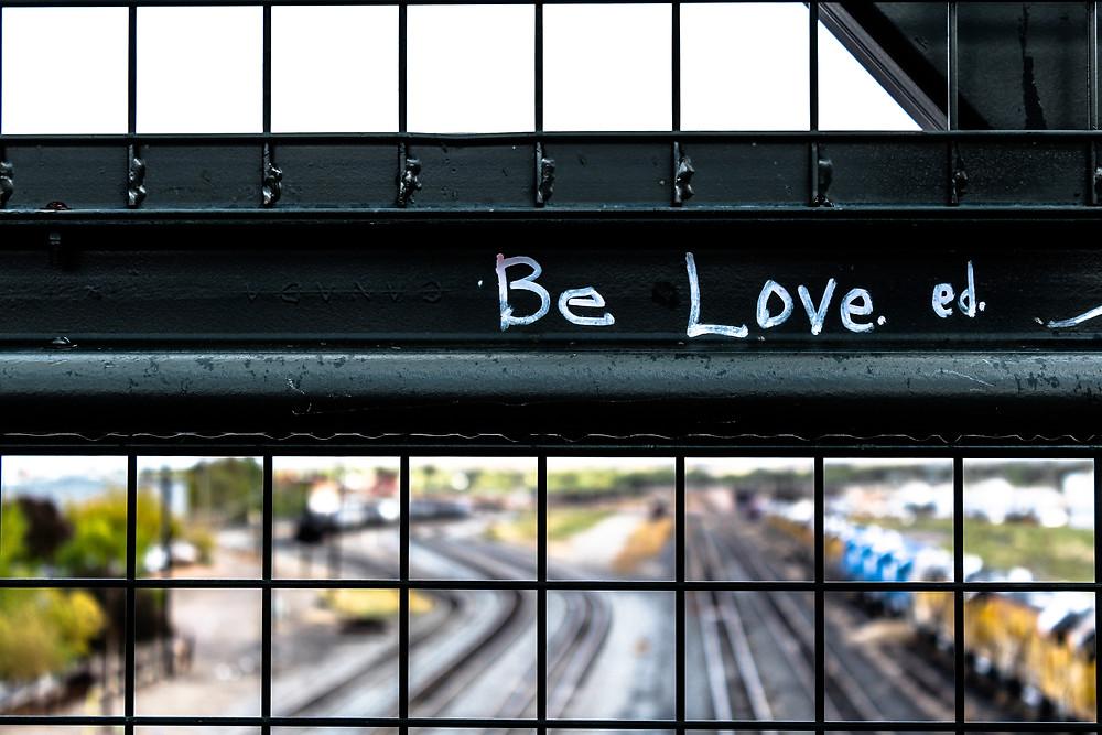 Be Love (ed) Graffiti by Elijah Macleod