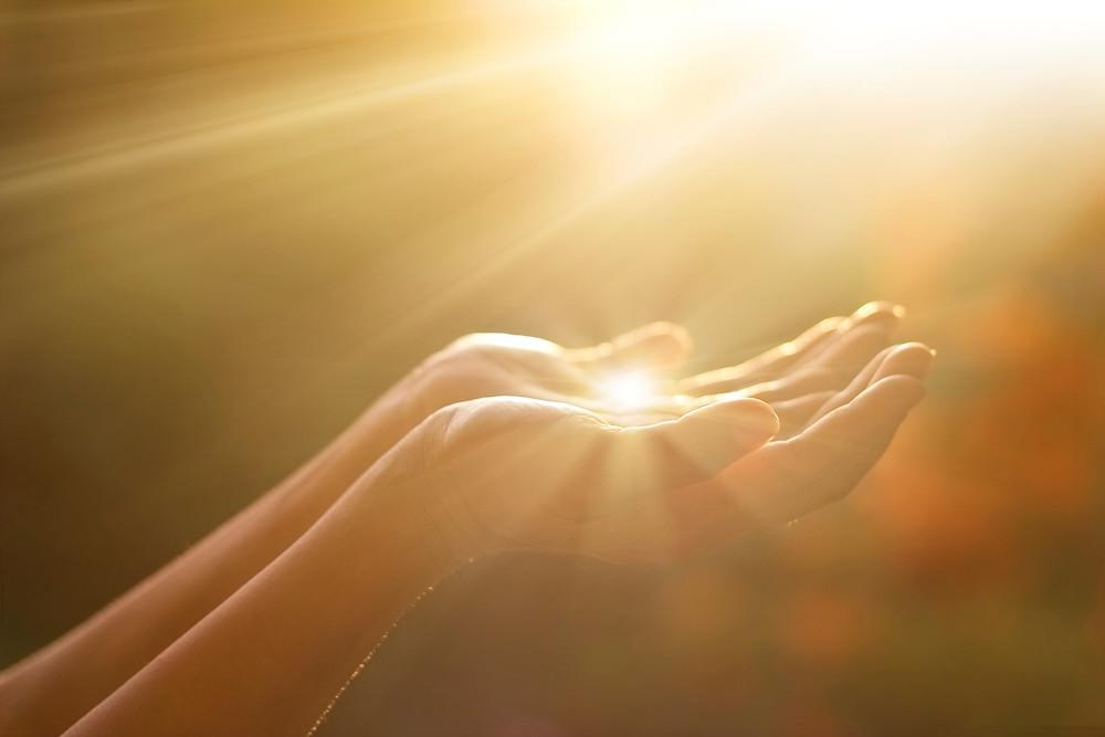 Hands in Sunlight