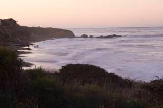 Ocean Landscape at Sunset