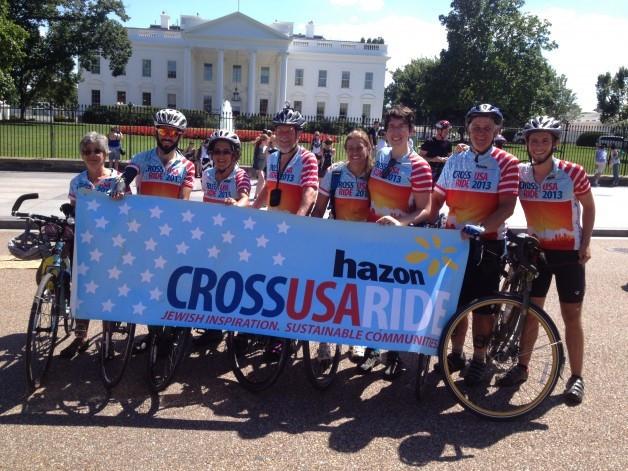 Hazon Bike Riding Group