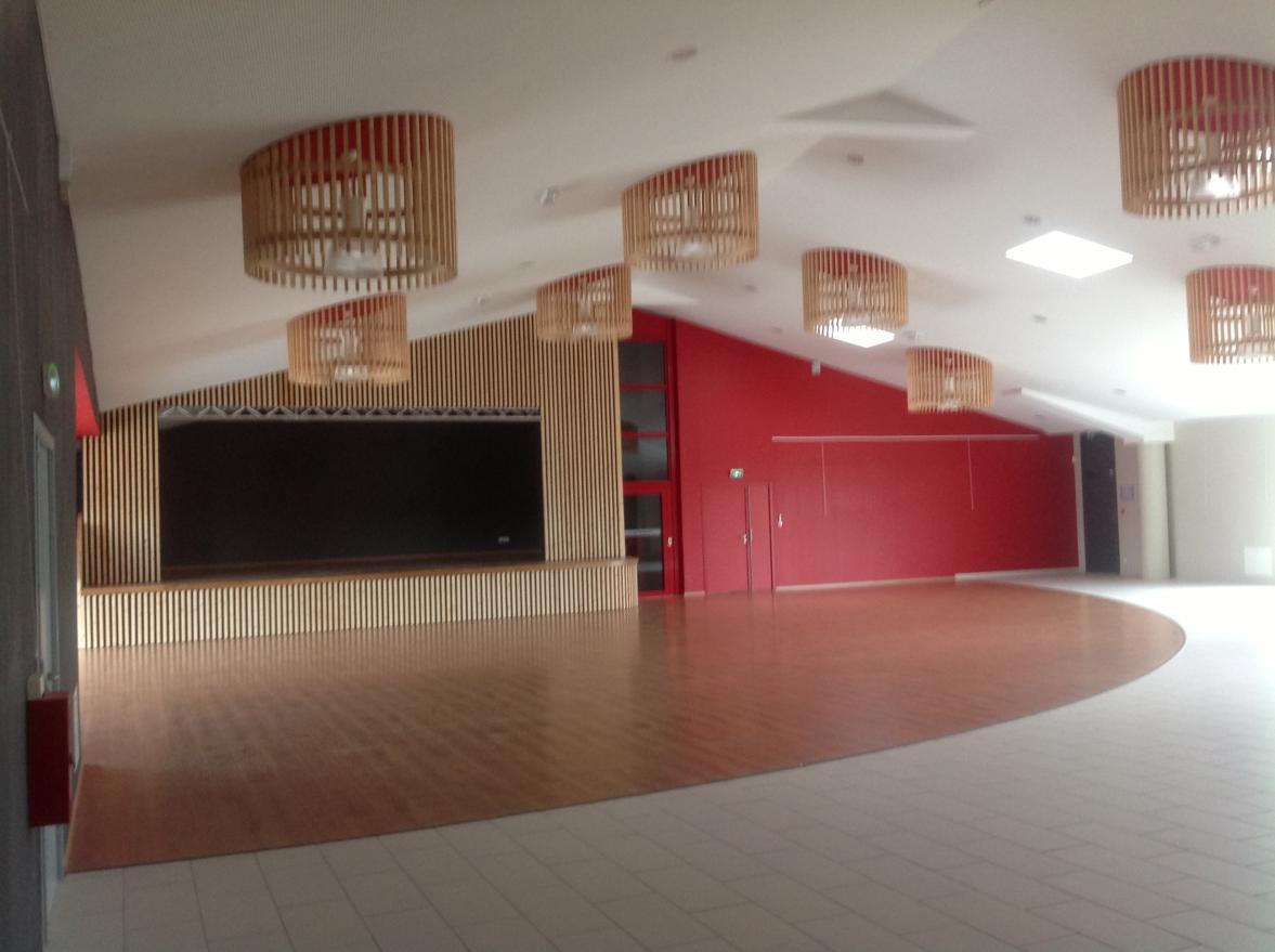 Intérieur de la salle 1