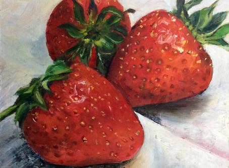 Ripe Strawberries!