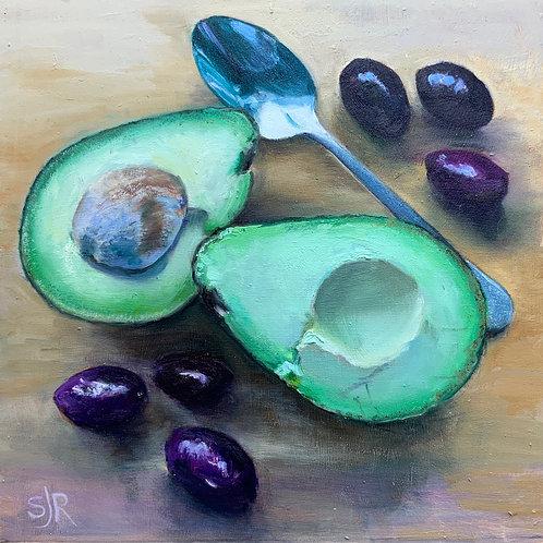 Avocado and Olives