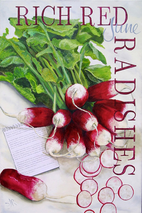 June Rich Ripe Radishes