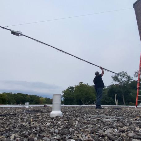 Raising The Hudson Gardens Tower