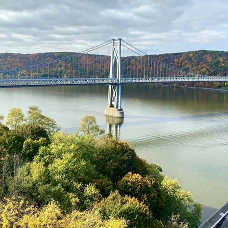 A view of The Midhudson Bridge
