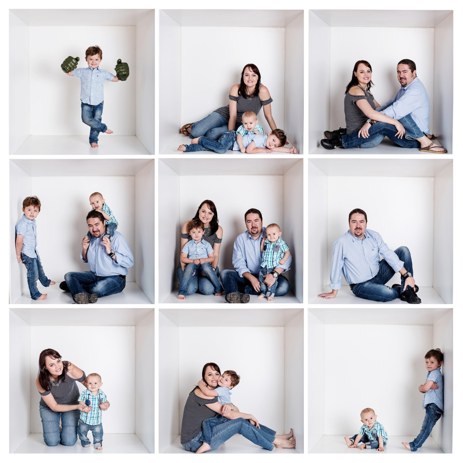 Boxed Family & Canvas