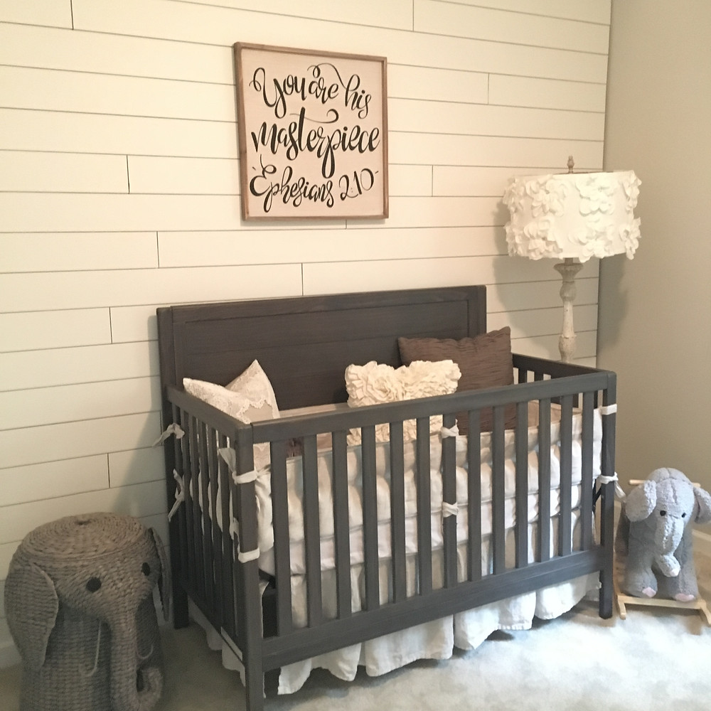 shiplap neutral nursery