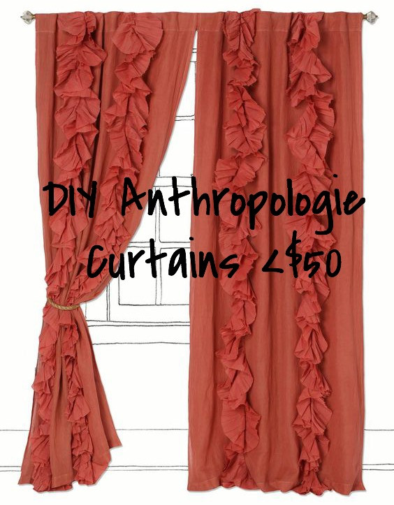 Anthropologie Curtain Look-A-Likes