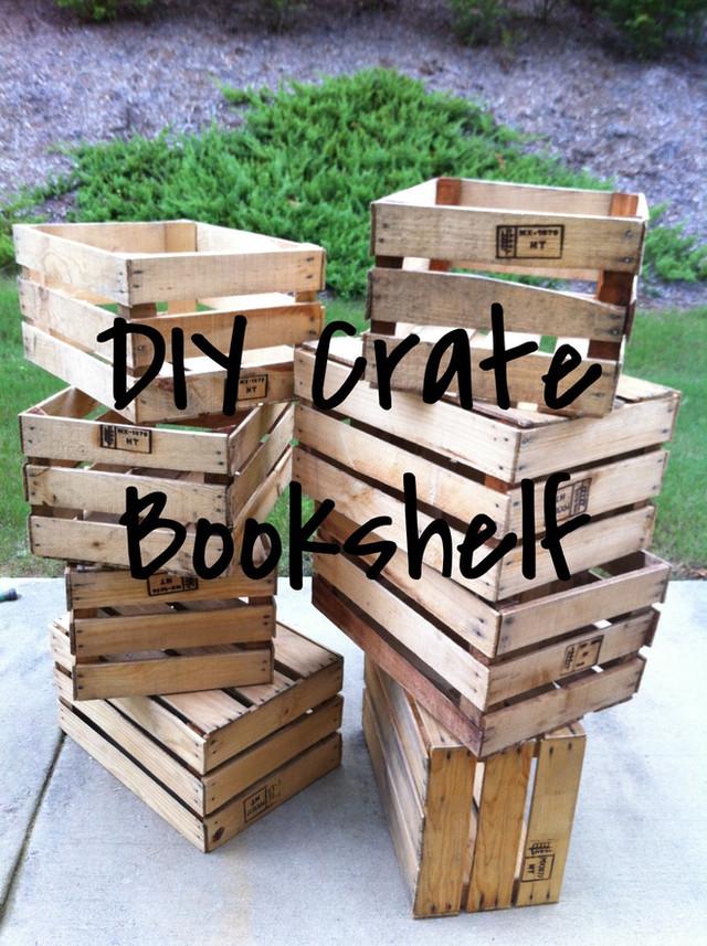 The Crate Bookshelf