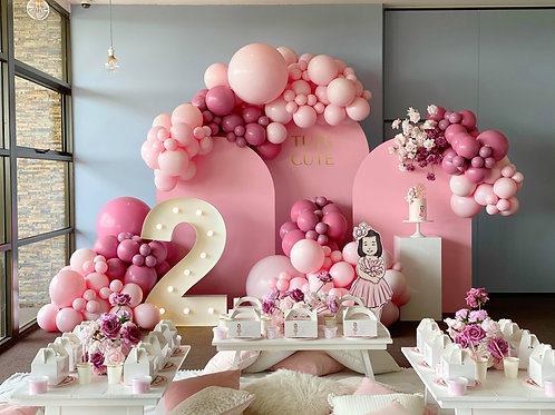 Pink Arches (Single or Set of 3)