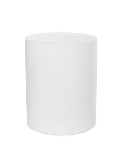 Round White Plinth 50cm