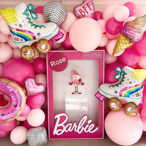 Kids Barbie Box Photobooth