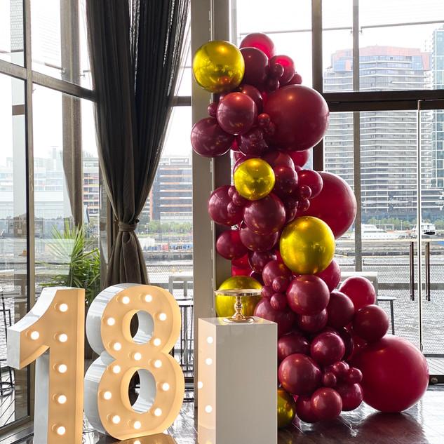 18th Birthday Celebrations @ Berth Restaurant