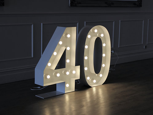 Giant Illuminated 40