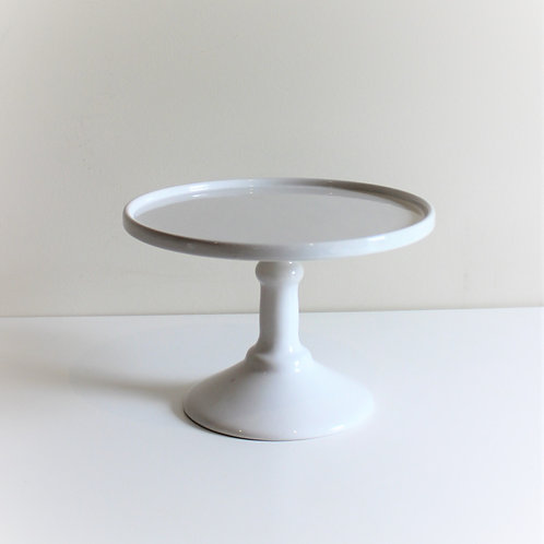 Traditional White Cake Stand 25cm