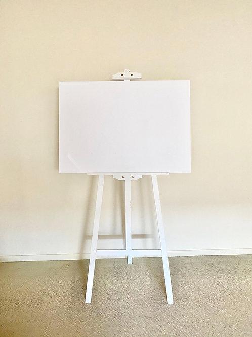 White Acrylic Signage Board