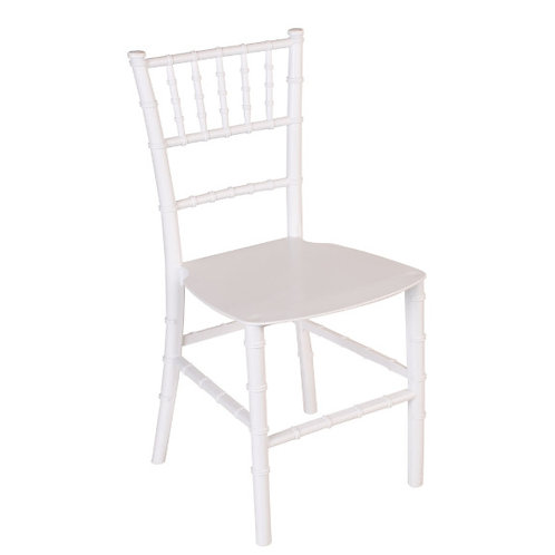 Kids White Tiffany Chair