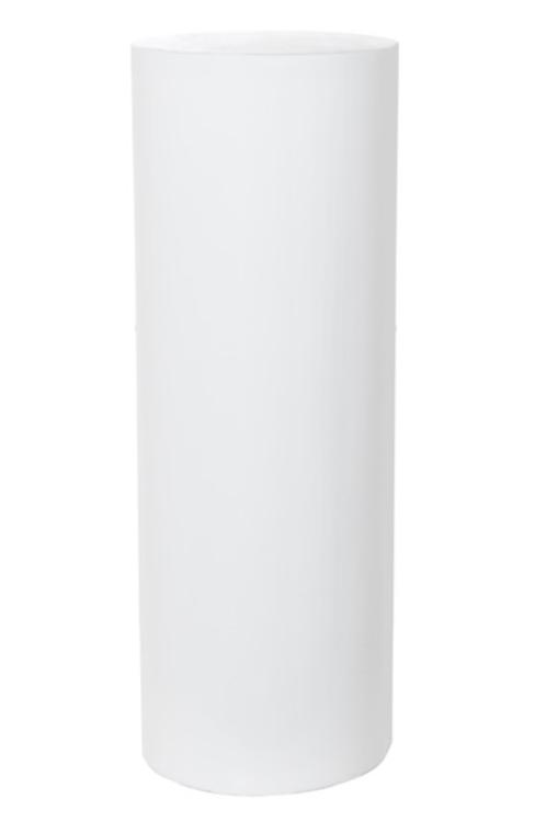 Round White Plinth 90cm