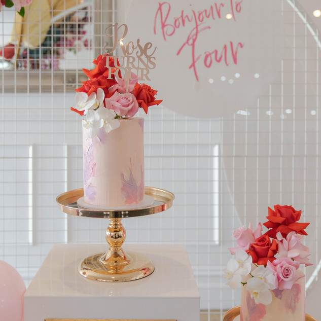 Bonjour to Four - Rose's 4th Birthday