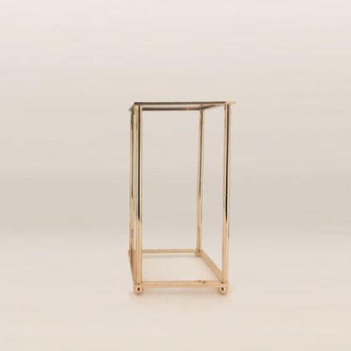 Gold Plinth Stand 80cm