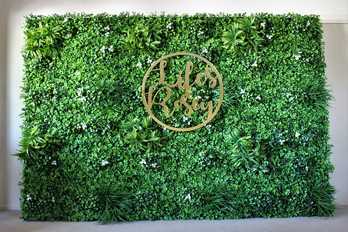 Luxe Green Wall