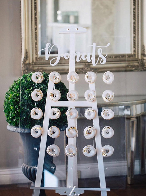 Donut Wall with Easel
