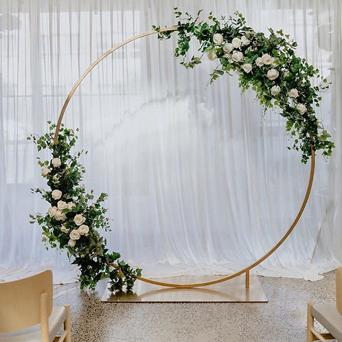 Gold Halo Arbour