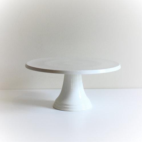 White Cake Stand 30cm