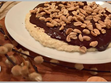 Ciasto orzechowo-kokosowo-czekoladowe