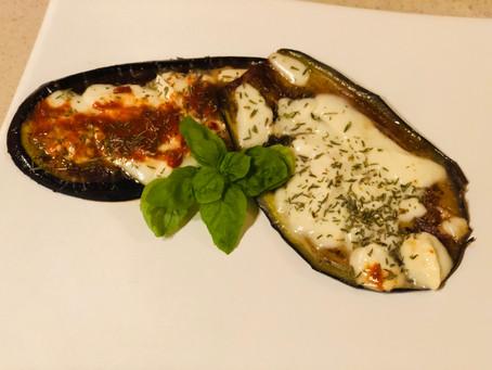 Bakłażan z mozzarellą