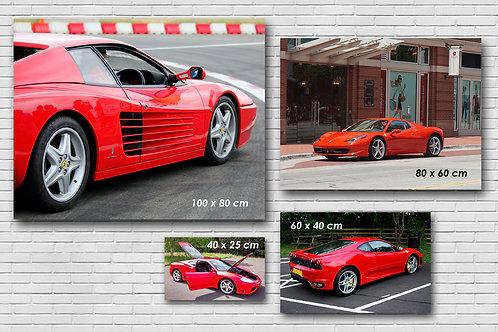 Tableau photo de votre voiture