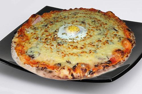 Calzone en pizza