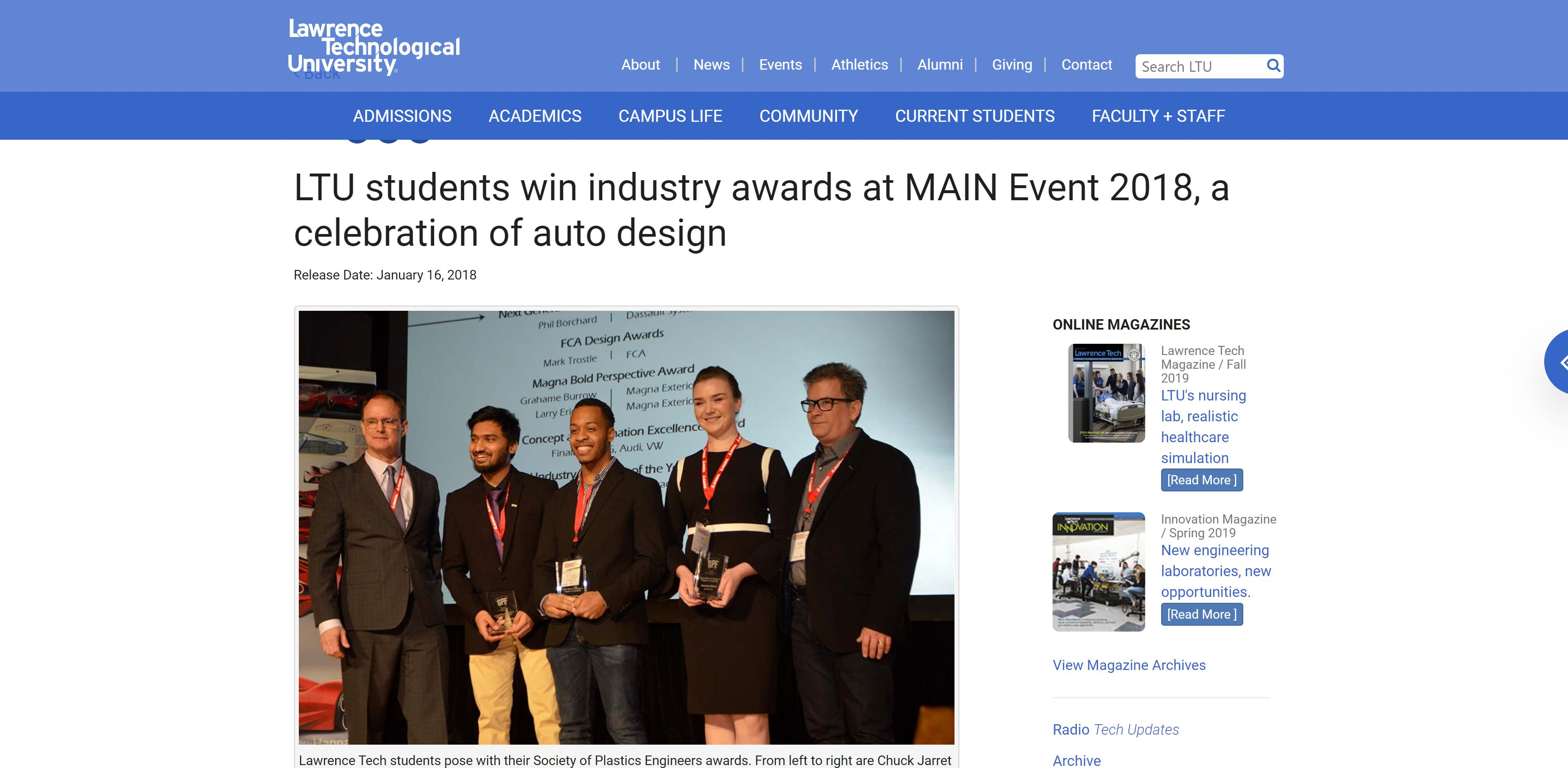 Autoshow Industry Awards