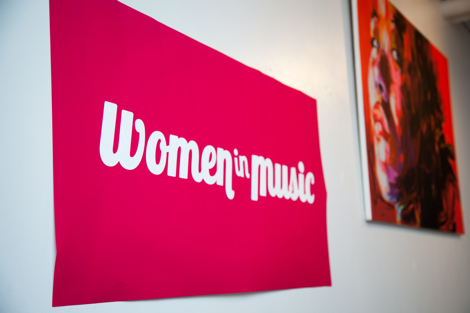 Women in Music Event Photography Downtown Toronto Banner