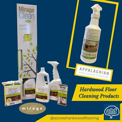 Hardwood Flooring Cleaning Products