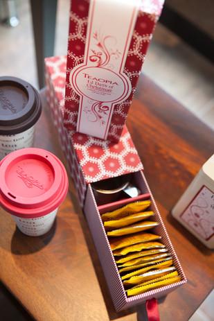 Seasonal Tea Bag Product Photography