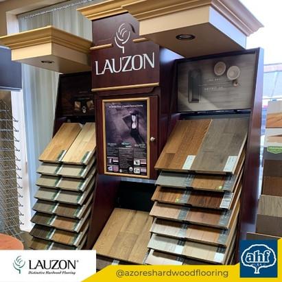 Lauzon Flooring Sample Display 2