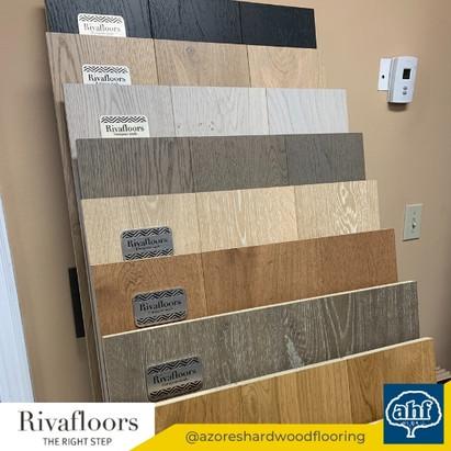 Rivafloors Flooring Sample Display
