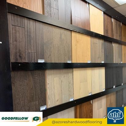 Goodfellow Flooring Sample Display