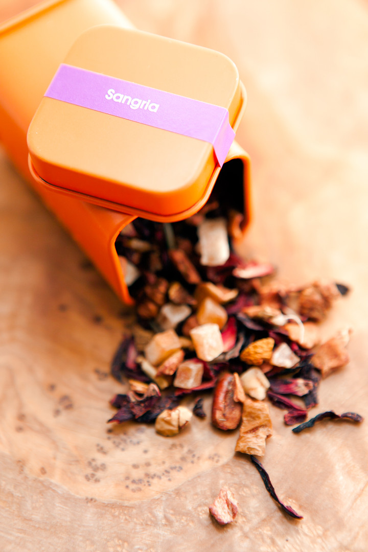 Loose Tea Cannister - Food Photographer