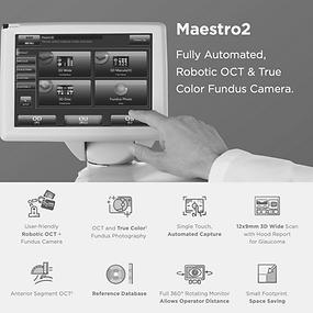 Topcon Maestro 2 Optical Coherence Tomography Machine Eyeglass Gallery