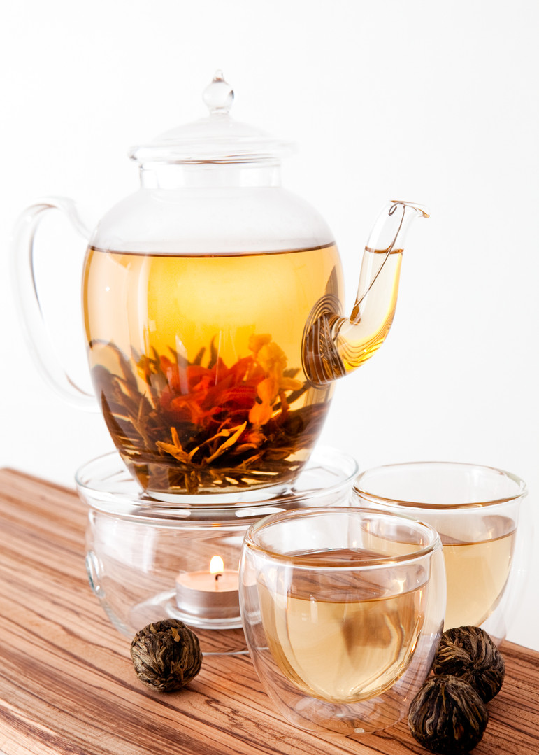 Tea Pot Decanter and Cups - Product Photography