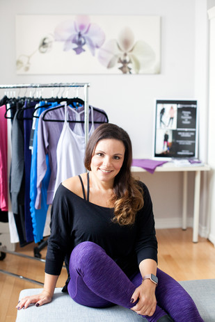 Antonella owner of My Legwear Shop Personal Brand Photography - Close Up Photo