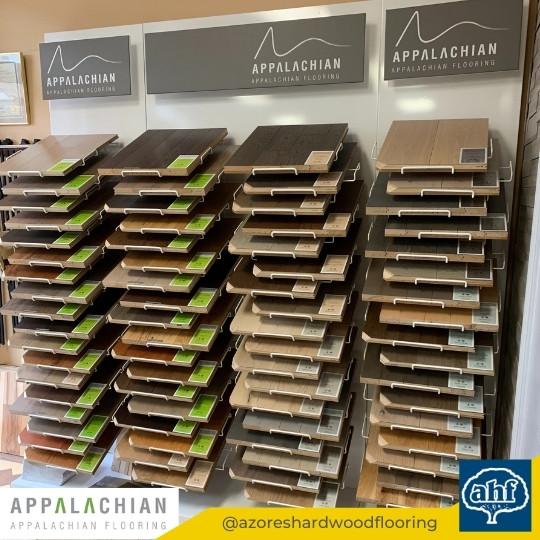 Appalachian Flooring Sample Display